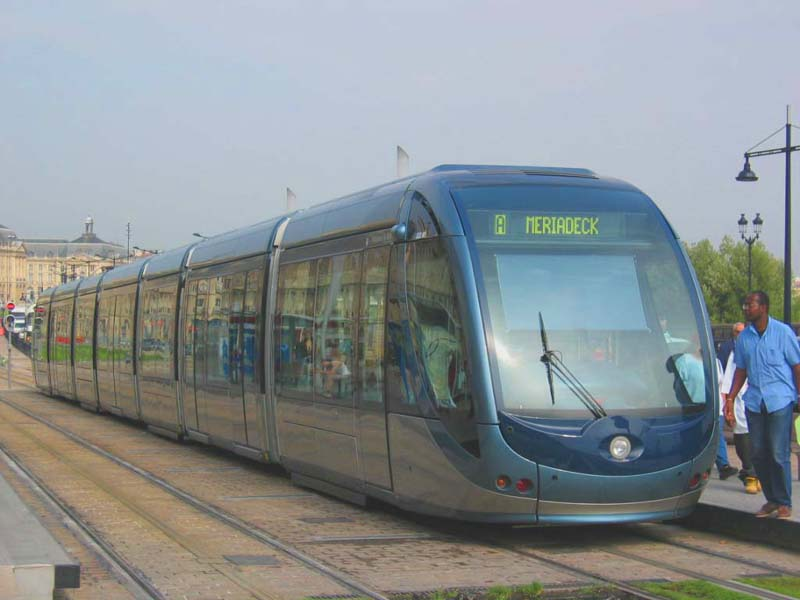 Tramway Bordeaux VTC